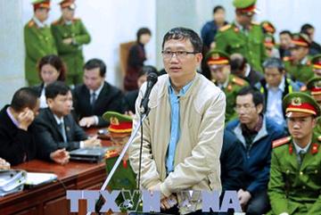 Hình ảnh Trịnh Xuân Thanh và đồng phạm nói lời nói sau cùng