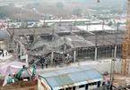 Hiện trường vụ sập giàn giáo 3 người quê Yên Bái tử vong