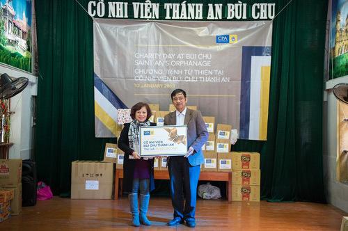 CPA Australia hỗ trợ Cô nhi viện Bùi Chu Thánh An