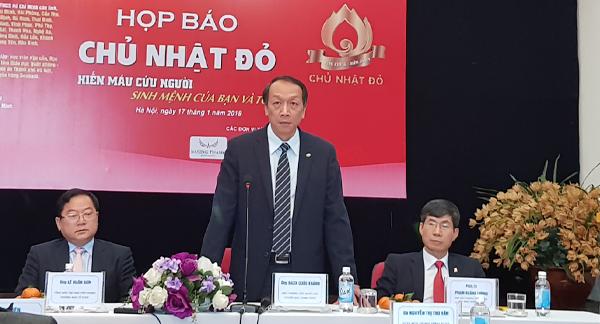 hiến máu,hiến máu tình nguyện,Viện huyết học - truyền máu trung ương,Bạch Quốc Khánh