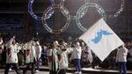 Hai miền Triều Tiên cùng diễu hành dưới một lá cờ tại Olympic