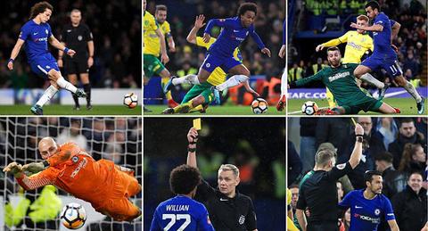 Video bàn thắng Chelsea 1-1 Norwich (pen 5-3)