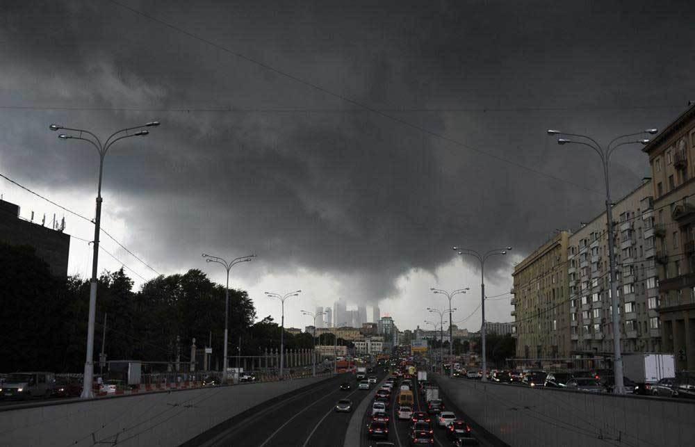 Thủ đô nước Nga trải qua tháng đen tối nhất