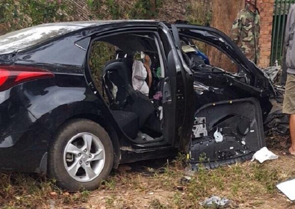 ô tô con đấu đầu xe tải,tai nạn giao thông huyện Ea H'leo Đắk Lắk