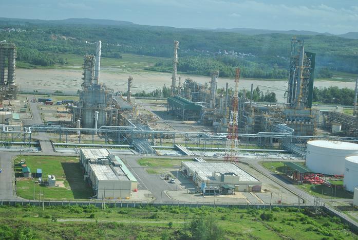 hóa dầu,lọc dầu,pvn,dầu khí,tập đoàn dầu khí,thái lan