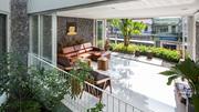 Căn nhà phố chỗ nào cũng thấy cây xanh ở Nha Trang