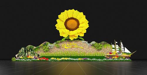 Lễ hội Kỳ quan muôn sắc hoa giữa Hạ Long