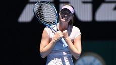 """Búp bê"" Sharapova thẳng tiến vòng 3 Australian Open"