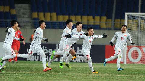 Video 5 bàn thắng đẹp U23 châu Á