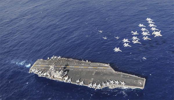 Thông tin tàu sân bay Mỹ thăm Việt Nam