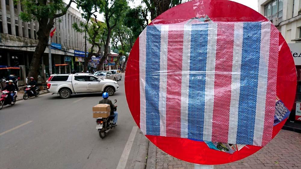 Hà Nội,biển báo giao thông