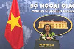 Người phát ngôn Bộ Ngoại giao nói về việc thực hiện quyền con người