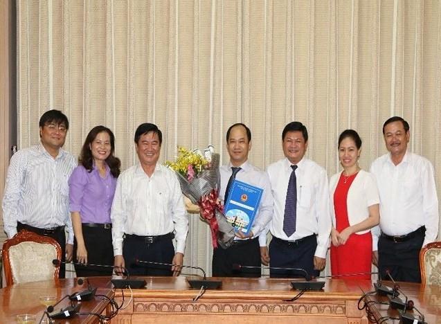 Bổ nhiệm,nhân sự TP HCM,Vĩnh Phúc,Tuyên Quang,Bắc Giang