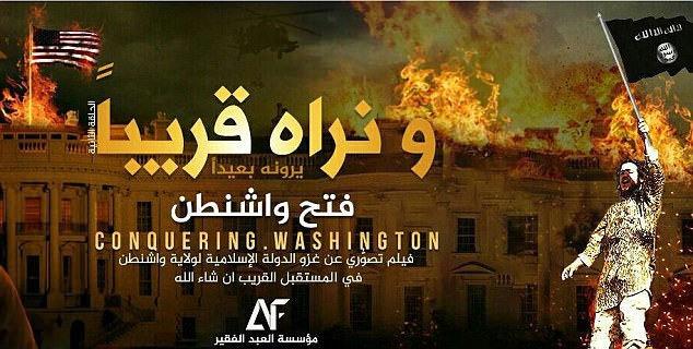 Nhà nước Hồi giáo (IS) tự xưng,xâm chiếm,tấn công,Washington DC,Mỹ.