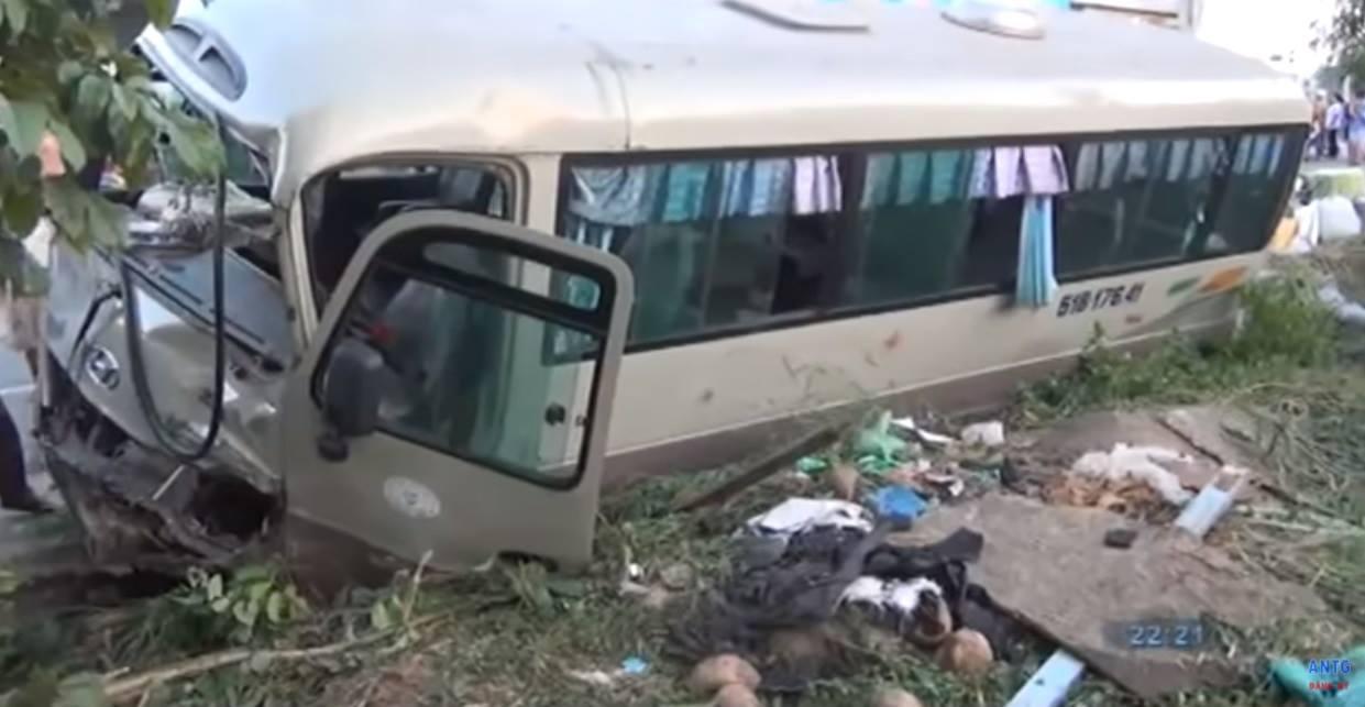 Thông tin mới vụ không khởi tố tài xế xe khách cán chết 2 cháu bé