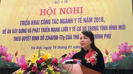 Bộ trưởng Y tế quyết nâng tuổi thọ và thể lực cho người Việt