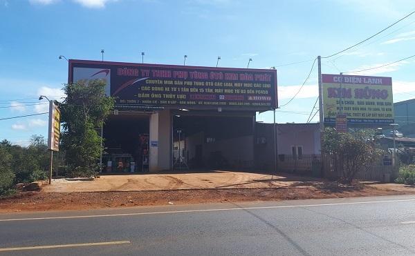 xây dựng trái phép,kỷ luật chủ tịch xã,UBND xã Nhân Cơ,xây sân tennis,huyện Đắk R'lấp,Đắk Nông