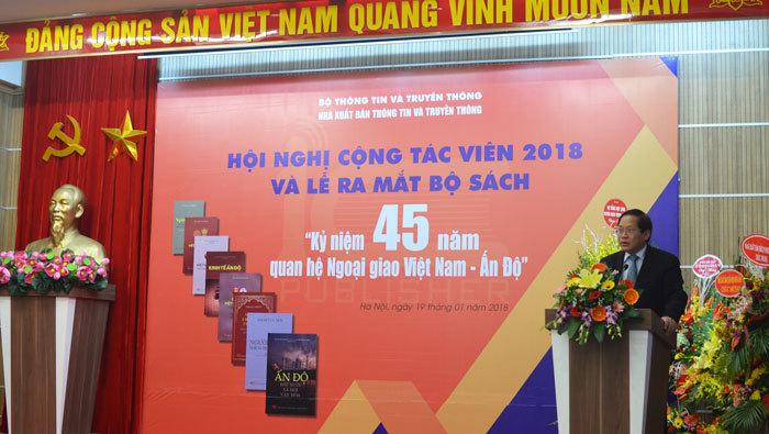 Ra mắt bộ sách về quan hệ đặc biệt Việt Nam - Ấn Độ