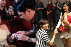 Những màn cầu hôn gây sốt của showbiz Việt