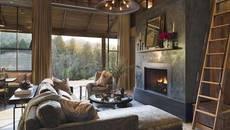 Phòng khách vừa ấm cúng vừa đẹp mê ly với cách trang trí độc đáo