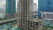 Hoang tàn tháp nghìn tỷ trơ xương trên vành đai 3 Hà Nội