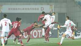 Chơi thiếu người, U23 Palestine suýt gây địa chấn trước Qatar