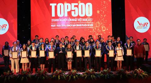 Môi trường kinh doanh cải thiện, Top 500 DN đạt thành tựu xuất sắc