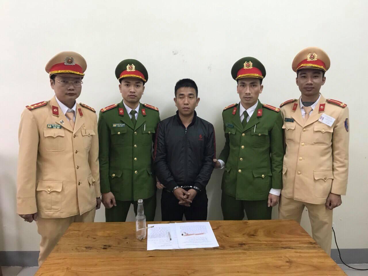 tài xế xe tải phê ma tuý,ma túy,CSGT,Hà Tĩnh