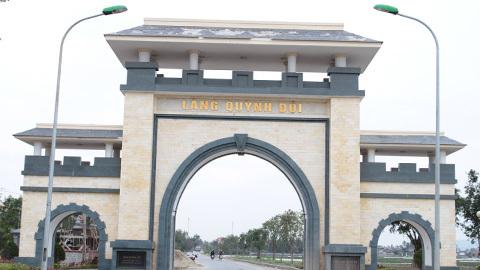 Cổng làng Quỳnh Đôi