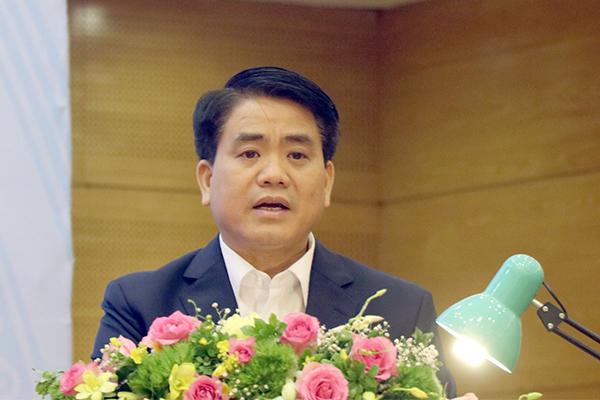 cây xanh,Chủ tịch Hà Nội,Nguyễn Đức Chung,trồng cây xanh