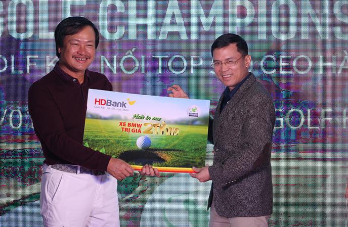 Golfer Nguyễn Đăng Quang 'giật' giải HIO 2 tỷ ở VCG 500 2018