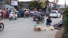 Truy đuổi xe ben cán chết người rồi bỏ chạy ở Sài Gòn