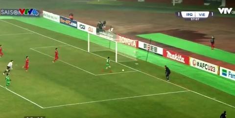 U23 Việt Nam 1-1 U23 Iraq: Tiến Dũng