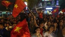 Xử nghiêm đua xe sau chiến thắng của U23 Việt Nam