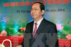 Chủ tịch nước: Hoạt động Công đoàn phải coi cơ sở là trọng tâm