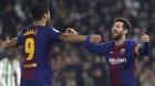 Messi và Suarez chói sáng, Barca cô đơn trên đỉnh bảng