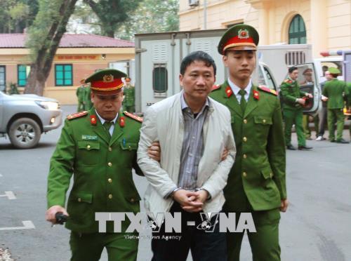 Đinh La Thăng,Trịnh Xuân Thanh,xét xử Đinh La Thăng,vụ án Trịnh Xuân Thanh,Tham nhũng,tham ô,PVN,PVC