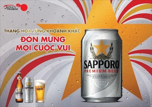 Bia thượng hạng đón mừng năm thịnh vượng