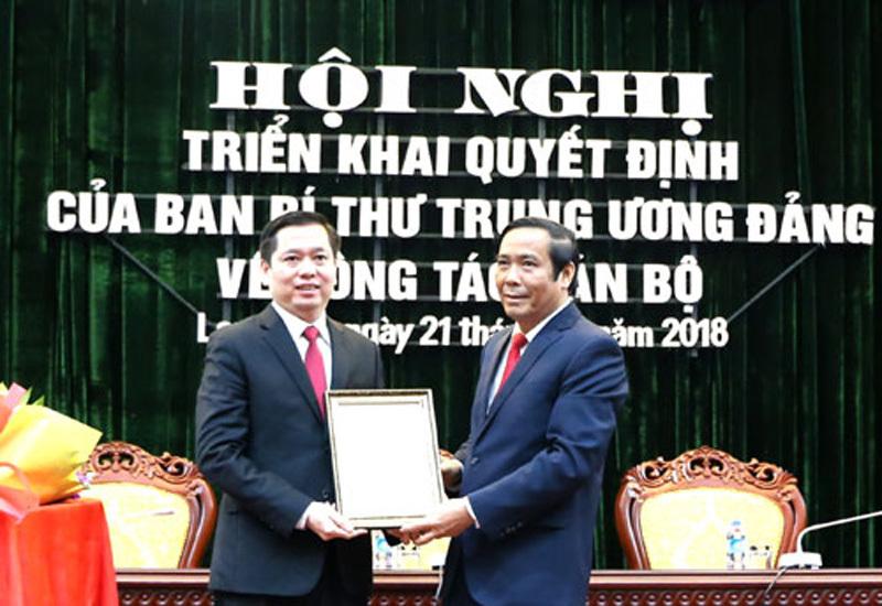 Triển khai quyết định của Ban Bí thư TƯ Đảng về công tác cán bộ