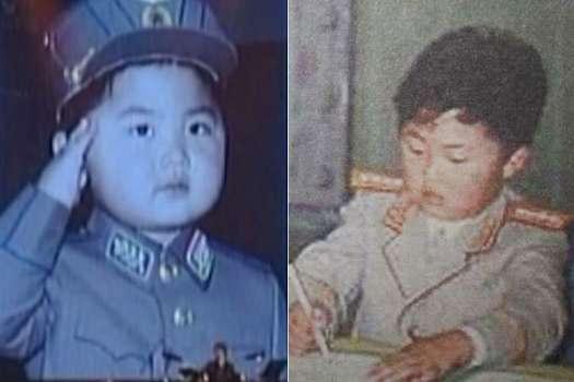 Kim Jong Un,lãnh đạo Triều Tiên,thời thơ ấu