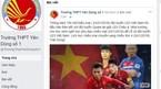 Trường cho học sinh nghỉ để cổ vũ đội tuyển U23 Việt Nam