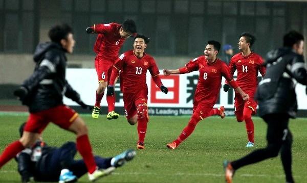 U23 Việt Nam,Bán kết U23 châu Á 2018,HLV Park Hang Seo,Cầu thủ Công Phượng,Cầu thủ Quang Hải,U23 Iraq,U23 Qatar