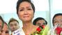 Hoa hậu H'hen Niê khóc như mưa ngày trở về