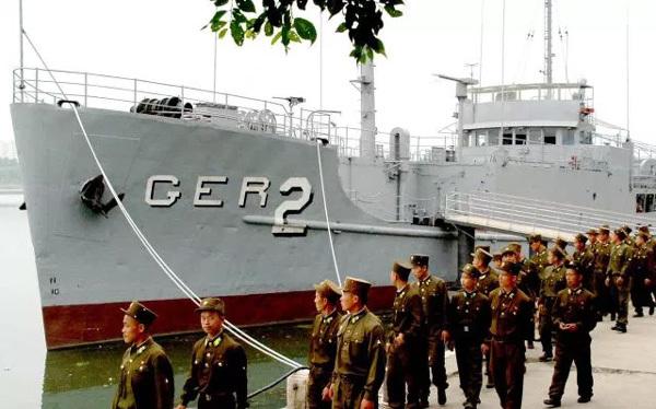 Tình hình Triều Tiên,Mỹ,Triều Tiên bắt giữ tàu do thám Mỹ