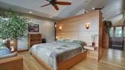 Những mẫu phòng ngủ hiện đại, thư giãn với cây cảnh