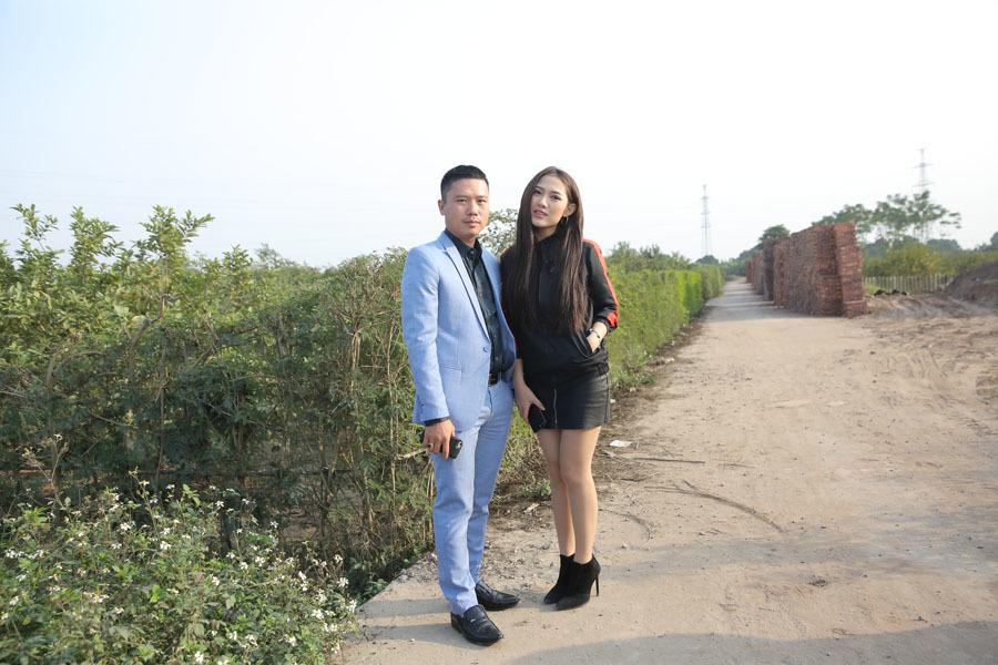 Quang Tèo đóng cặp với Trang Cherry phim hài Tết