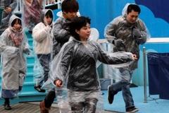 Tokyo lần đầu diễn tập ứng phó tên lửa Triều Tiên