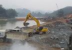 Chặn sông Lô làm thủy điện, tận thu trái phép 150.000m3 cát sỏi