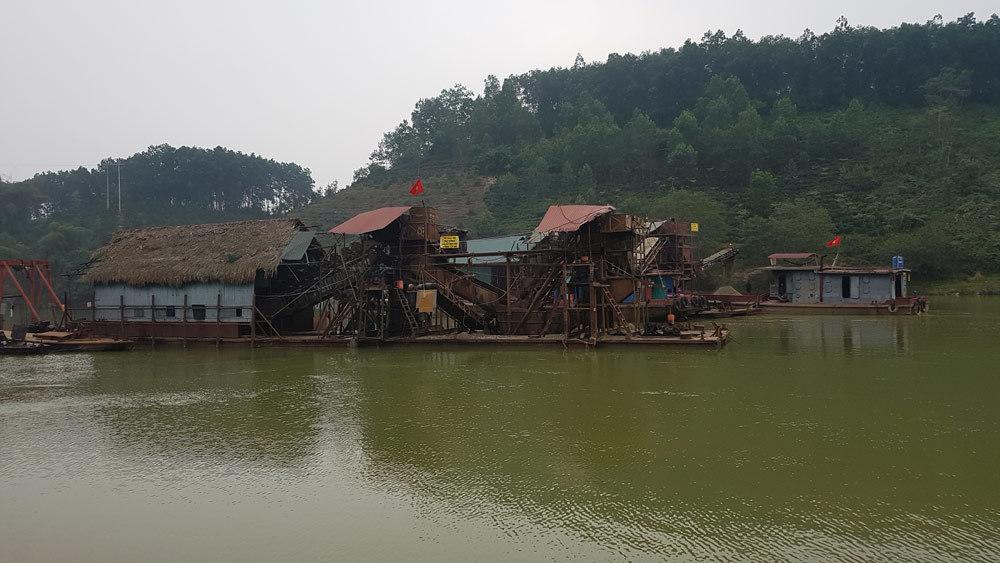 Tuyên Quang,cát tặc,dự án thủy điện
