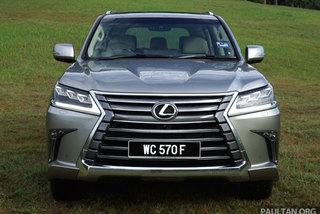 Chấn động xe sang: Ô tô Lexus LX570 giảm 430 triệu đồng